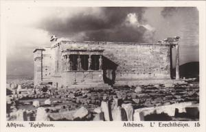 Greece Athens L'Erechtheion Photo
