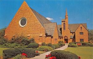 Denton Texas~St Andrew United Presbyterian Church USA~1970s Postcard