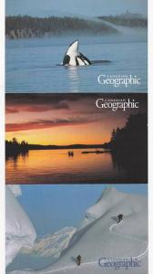 Tri-fold, Killer Whales, Rowboat, Sunset Lake, snow skiing, Canadian Geograph...