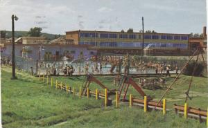 Swimming Pool, St. Francis Park, La Tuque, Quebec, Canada, PU-1967