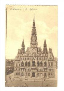 Reichenberg,(now Liberec), a town in the Czech Republic, 00-10s ; i. B. Rathaus