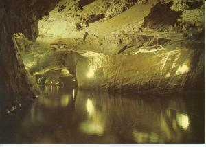 Switzerland, Lac Souterrain, St-Leonard, unused Postcard