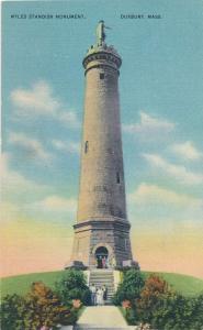 Miles Standish Monument - Duxbury MA, Massachusetts - Linen
