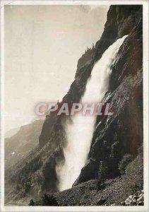 Postcard Modern Vernayaz cascade Pissevache