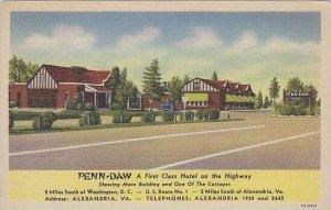 Virginia Alexandria Penn Daw Hotel