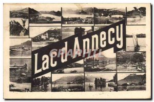 Old Postcard Lake Annecy