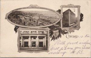 Chicago IL Illinois Marshall Field & Co. Advertising Postcard F11