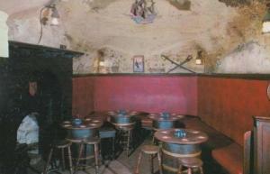 Jerusalem Pub Inn Ward Room Rare Photo Postcard