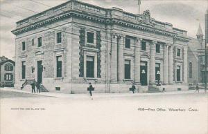 Post Office (Exterior), Waterbury, Connecticut, 1900-1910s