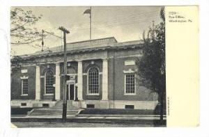Post Office, Washington, Pennsylvania, 10-20s