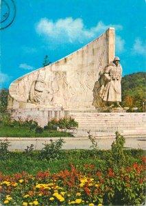 Postcard Romania RPR Baia Mare romanian soldier monument