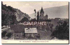 Old Postcard Chateau de la Roche du Roi Aix les Bains