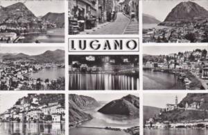 Switzerland Lugano Multi Views Photo