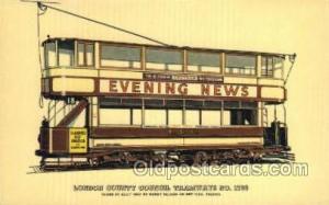 London County Council Tramways Train Railroad Station Depot Postcards Post Ca...