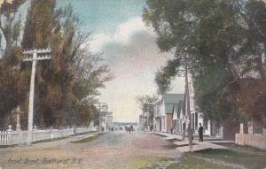 BATHURST , New Brunswick , Canada , PU-1912 ; Front Street