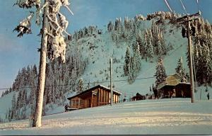 Washington Stevens Pass Ski Area Chair Lift