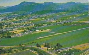 Aerial View, District of Chilliwack, British Columbia, Canada, 40-60´s