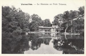 Palace of Versailles France early postcard petit trianon le hameau