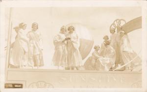 RP; Parade, WINNIPEG, Manitoba, Canada, 1931; Closeup view of Ladies on Sunsh...
