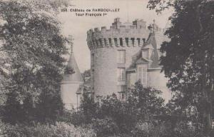 Rambouillet Chateau French France Antique Postcard