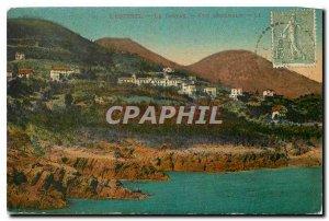Postcard Ancient Estesel General view