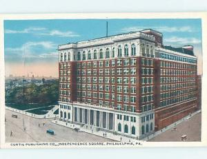 W-Border CURTIS PUBLISHING COMPANY BUILDING Philadelphia Pennsylvania PA G1240