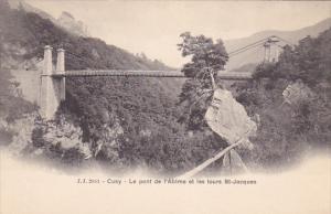 Le Pont de L'abime et Les Tours St. Jacques, CUSY, Rhone, France, 00-10's