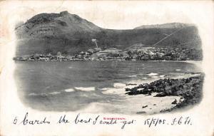South Africa Simonstown 1905 postcard