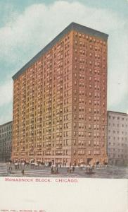 CHICAGO, Illinois, 1901-07; Monadnock Block