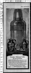 1924 Thermos Insulated Bottle Gifts Vintage Print Ad 3994