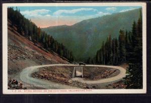 Spiral Bridge on the Cody Road,Yellowstone Park BIN