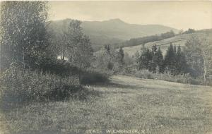 Wilmington Vermont~Vista View of Haystack Mountain~SHARP! Sepia RPPC c1913