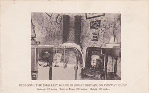 Interior- Bedroom, The Smallest House In Great Britain, On Conway Quay, Conwa...