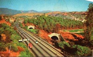 California Los Angeles Arroyo Seco Parkway Pasadena Freeway