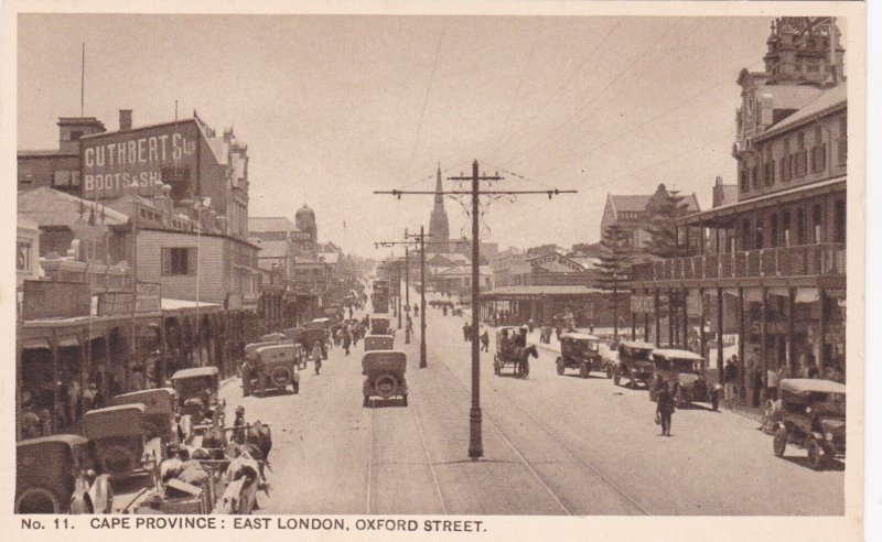 Cape Province: EAST LONDON , Oxford Street , South Africa , 10-30s