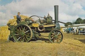 Lord Charlie Fowler Traction Engine 8337 Leeds Sandy Bay Holiday Park Postcard