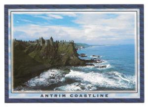 Antrim Coastline Ireland Dunluce Castle John Hinde Postcard