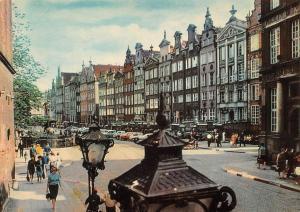 Poland Gdansk Dlugi Targ Street Strasse