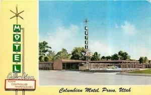 UT, Provo, Utah, Columbian Motel, M.K. Mosley 24,039F