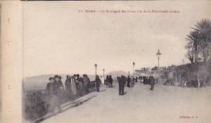 La Montagne Des Lions Vue De La Promenade Letang, Oran, Algeria, Africa, 1910...