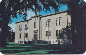 Exterior, Hotel de Ville, City Hall, Edmundston, N.B.,  Canada, PU-1957