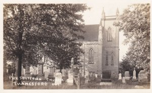 RP: THAMESFORD , Ontario , Canada , PU-1915; Presbyterian Church & Cemetery