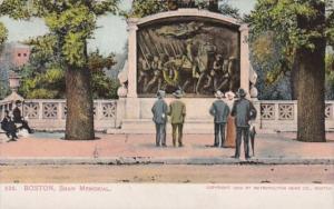 Massachusetts Boston Shaw Memorial 1907