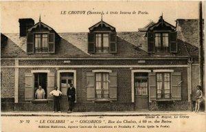 CPA LE CROTOY LE COLIBRI et COCRICO Rue des Chalets (868973)