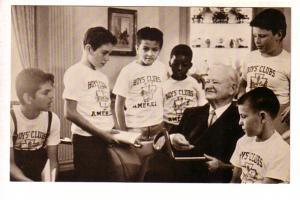 Herbert Hoover, Children from the Boys; Club in his Waldorf-Astoria