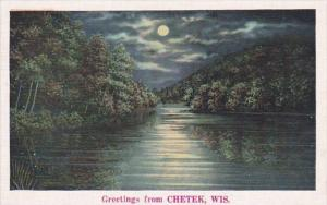 Wisconsin Greetings From Chetek