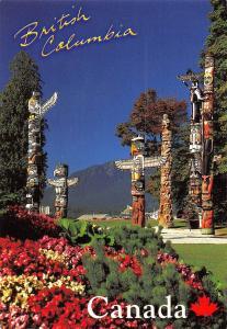 Canada British Columbia Stanley Park Totem Poles