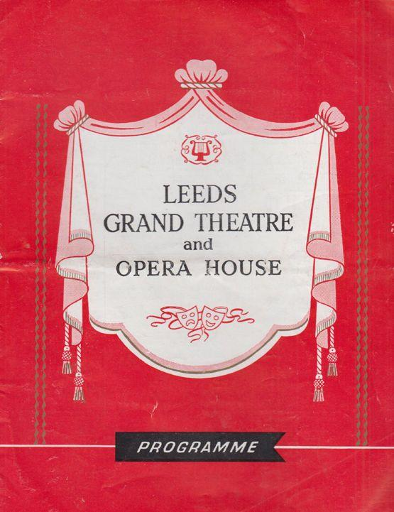 When We Are Married Peggy Mount Hugh Lloyd Freda Jackson Leeds Theatre Programme