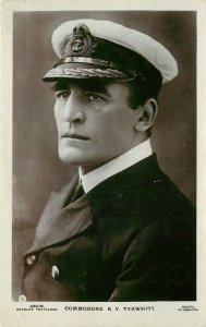 Beagles Postcard RPPC 430.M; Commodore of First Fleet R.Y. Tyrwhitt Royal Navy