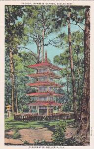 Florida Clearwater Belleair Pagoda Japanese Garden Eagles Nest